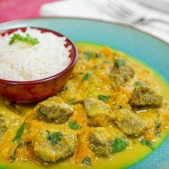 Thai - Carne com Curry