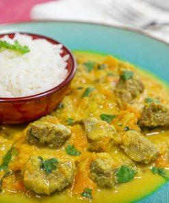 Thai - Carne com Curry