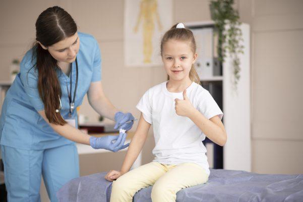 A importância da vacinação para crianças